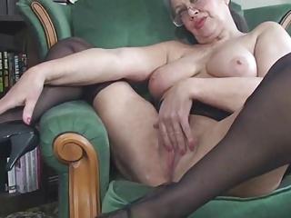 Free HD Granny Tube Stocking