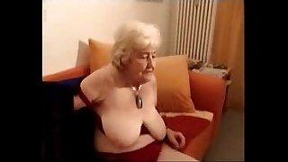 Having fun with old slut..