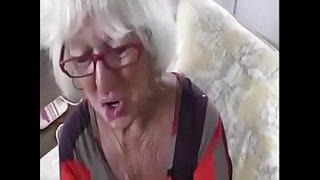 My old granny lover suck..