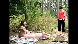 Naughty Teen Spies And Joins..
