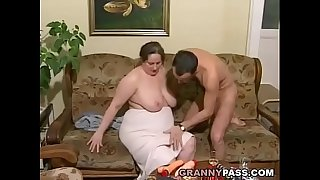 German BBW Granny Loves..