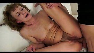 hot grandma  anal sex