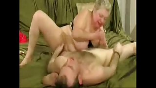 Horny grandma loves to jerk..