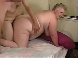 Horny granny paid to fuck..