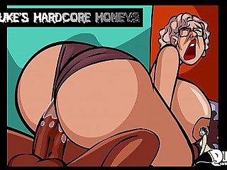 Thick Ass Granny Fucked by..