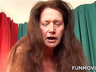 Horny Redhead German Granny