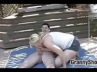 Granny Has Sex With A Young..