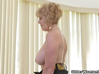 Depraved granny Phoenix Skye..