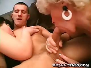 Which Granny Sucks Cock..