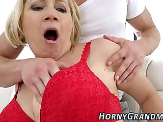 Analized granny creamed