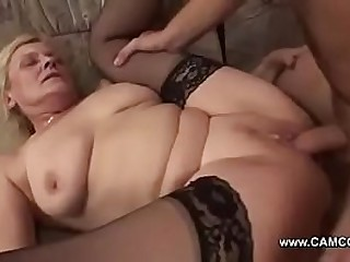 Young Boy Fuck Old Lady Hard..