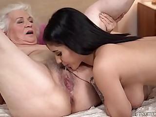 Nasty shit with grandma and..
