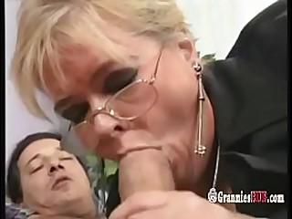 Chubby German Granny Blonde..