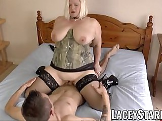 Hot granny Lacey Starr..
