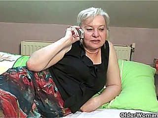 Cock crazed granny gets..