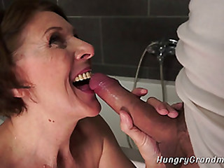 Grandma Sucks Big Dick and..