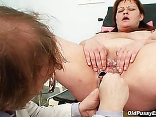 Huge tits plumper mature..