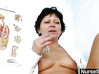 Sexy Milf in nurse uniform..