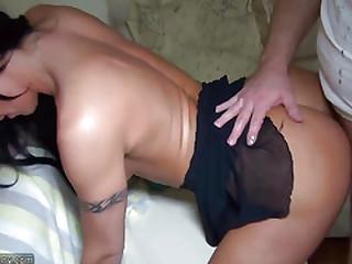 OldNanny sexy girl fucking..