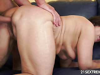 Cock-hungry GILF Margo and..