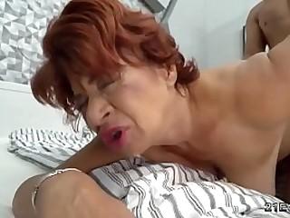 Hot latina granny gets her..