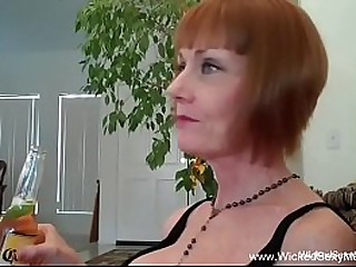 Homemade Blowjob Granny..