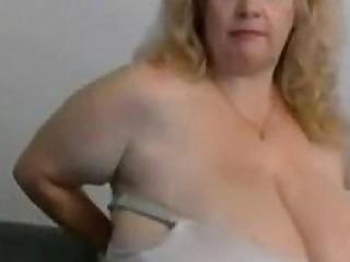 Granny bbw with huge boobs..