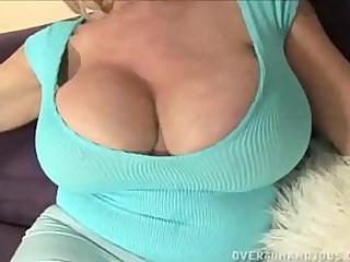 Jizzed Granny Tits
