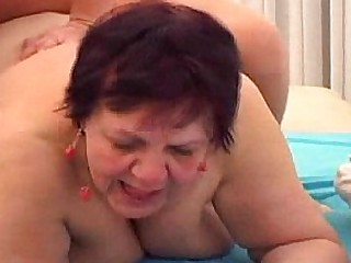 Homemade be granny rides bbc