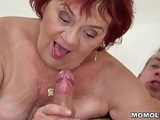 Granny enjoys her y...