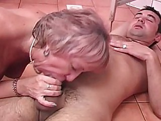 Cum Swallowing Granny..