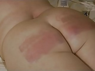 Granny getting her ass spanked