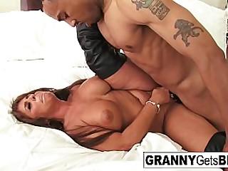 Hot granny gets..