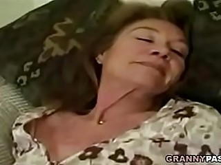 Granny Gangbang With Facial..