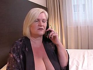UK Granny Lacey Starr Gets..