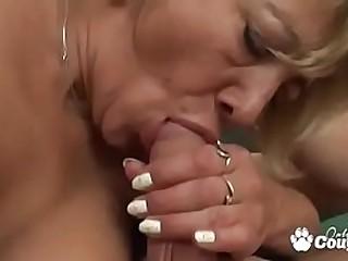 Grandma Gets A Cum Load Shot..