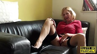 Squirting brit granny..
